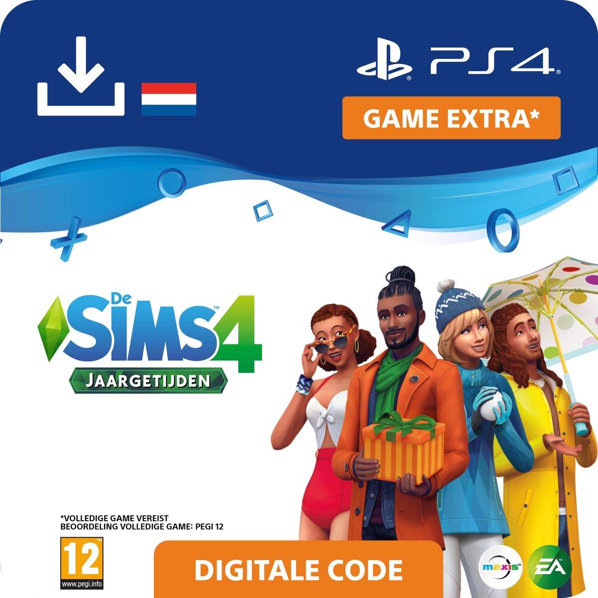 De Sims 4 - uitbreidingsset - 4 Jaargetijden - NL - PS4 download