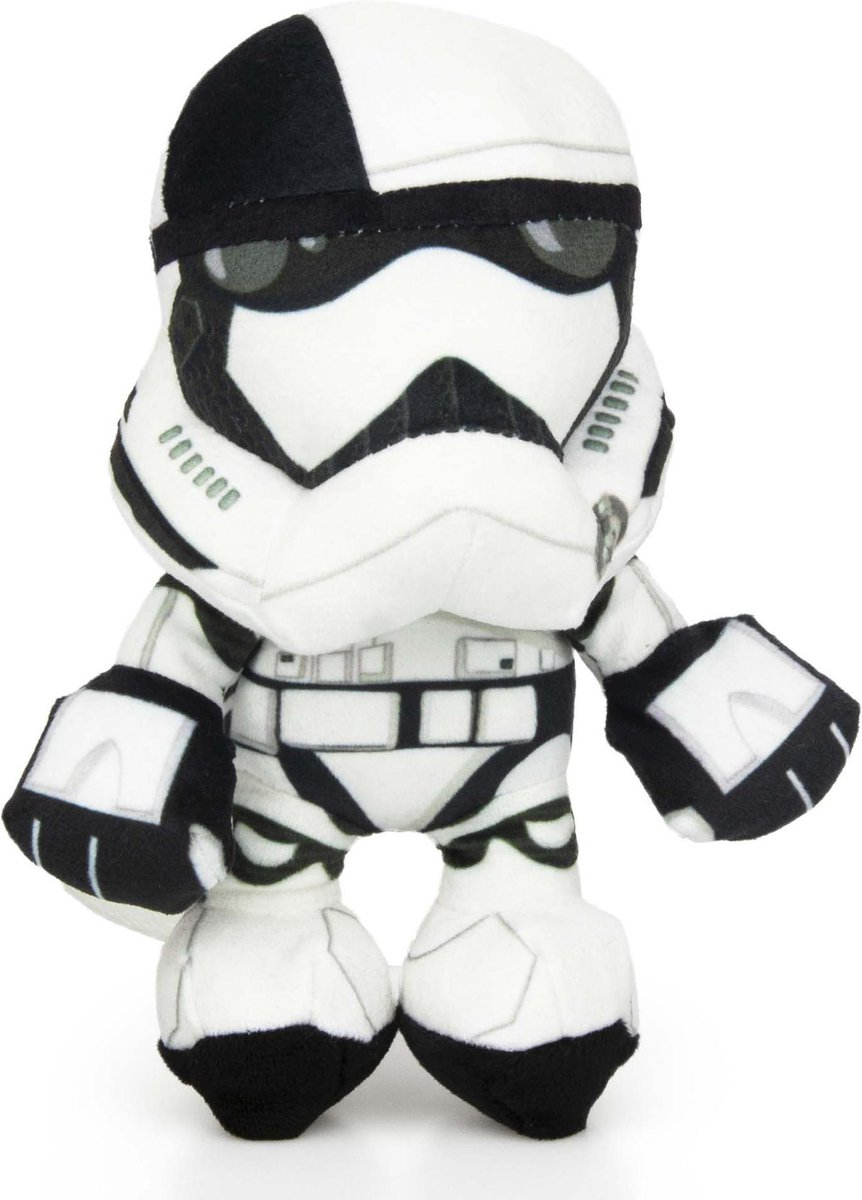 Storm Trooper Pluche Star Wars knuffel 22cm – Starwars plush – Star Wars: The Rise of Skywalker – Starwars Friends – Royal Guard – Porg – Storm Trooper – BB-9E