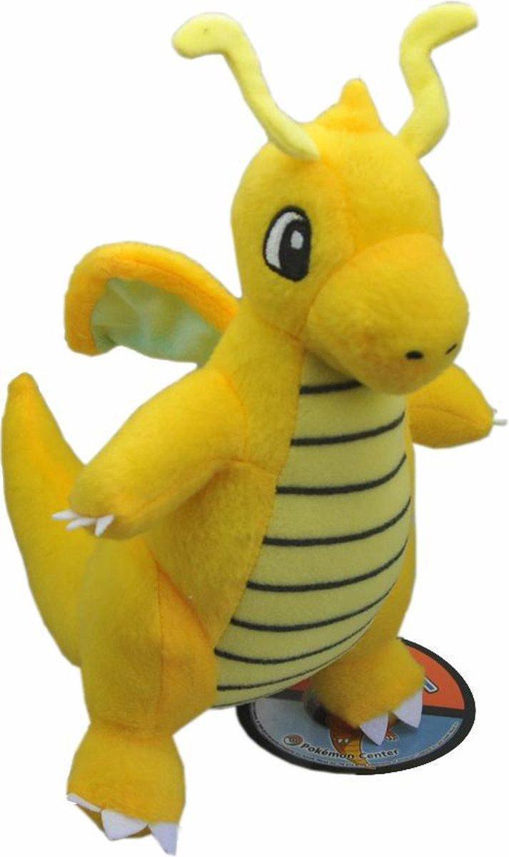 Pokemon Knuffel dragonite 20 cm pluche cute en zacht - oranje
