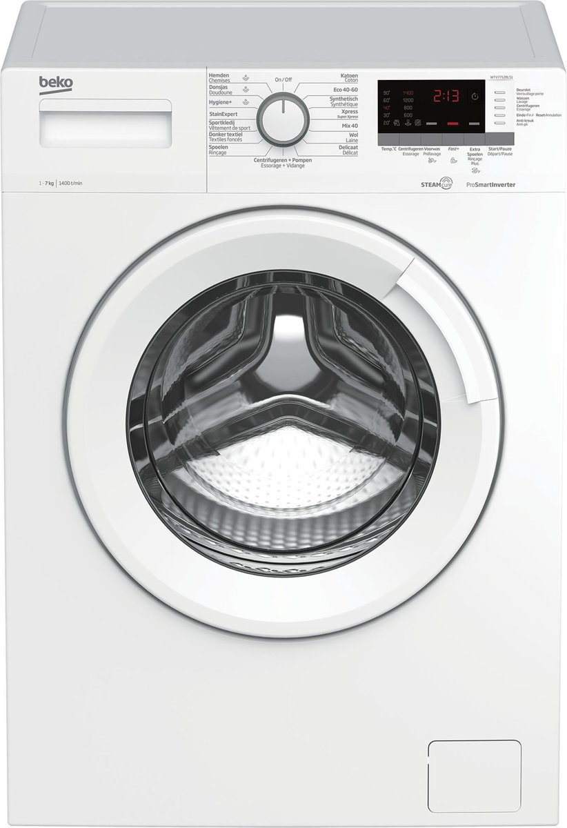 Beko WTV7712BLS1 – Wasmachine