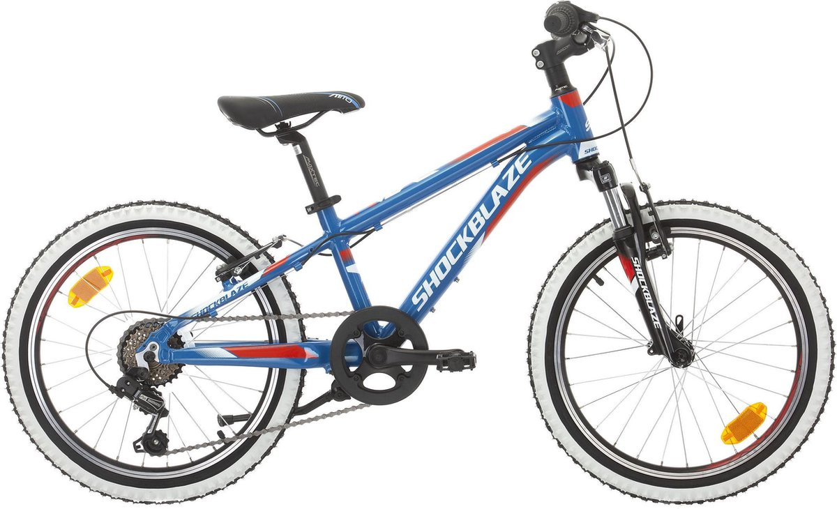 Shockblaze Ride - Mountainbike - 6 Versnellingen - 20inch - 29cm BK20SB6413 R4