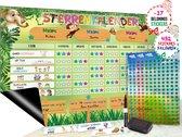 Magnetisch Beloningssysteem (33) - A3 - Beloningskalender - Planborden - Weekplanner kind - Zindelijkheidstraining - Dagplanner
