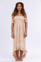 Our Little Pearls Maxi Dress, one size, super stretch Maxi-dresses Dames Jurk Maat One size