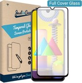 Just in Case Full Cover Tempered Glass Samsung Galaxy M31 Protector - Black
