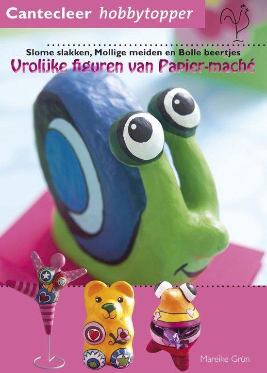 Boek cover Vrolijke figuren van papier-maché van Marieke Grün (Paperback)