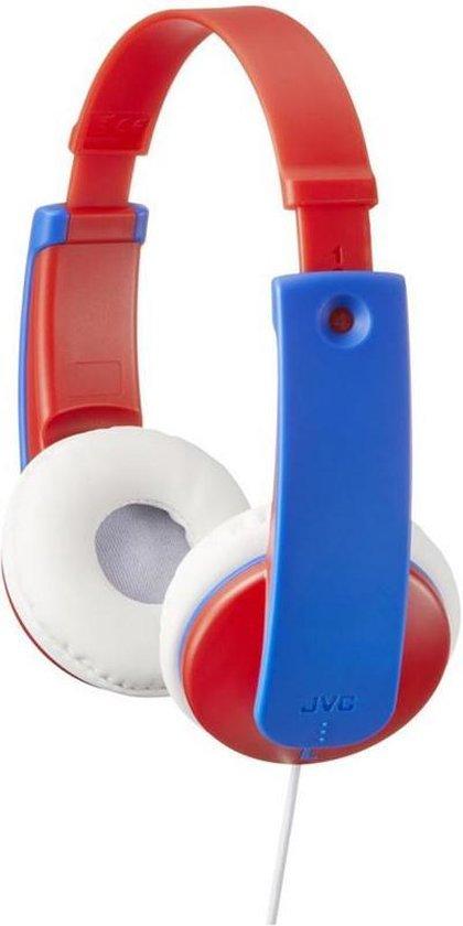 JVC HA-KD7 - On-ear kids koptelefoon - Rood