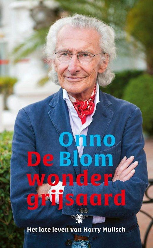 Boek cover De wondergrijsaard van Onno Blom (Hardcover)