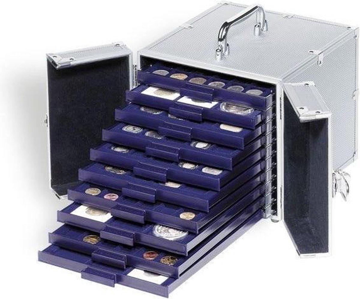 Leuchtturm koffer voor 10 muntcassettes