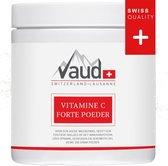 Vaud Vitamine C Forte Poeder   Vitamine-C  poeder 1000mg   Meest pure vorm   Vitamines   Goed opneembaar   Bevordert de weerstand en het immuunsysteem   Zonder toevoeging van additieven   Bevat 250 doseringen