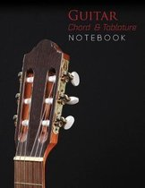Guitar Chord & Tablature Notebook / 8,5'' x 11'', 144 Pages