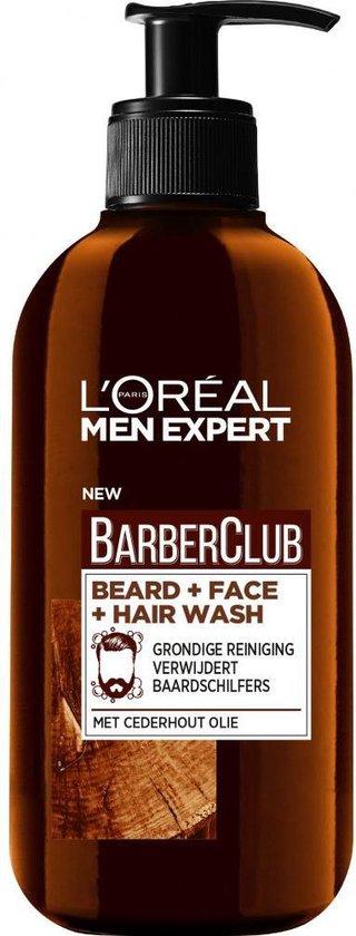 L'Oréal Paris Men Expert BarberClub beard 6 x 200 ml - Voordeelverpakking