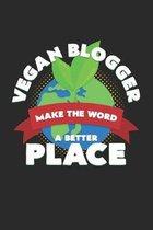 Vegan blogger make the world a better place: 6x9 Blogging - dotgrid - dot grid paper - notebook - notes