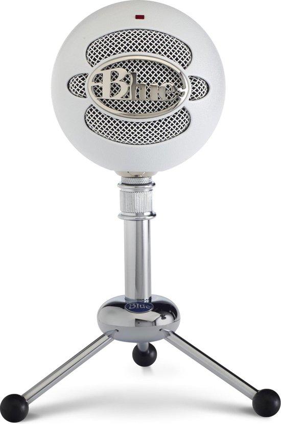 Blue Microphones  Snowball - USB Streaming Microfoon van Studiokwaliteit - White