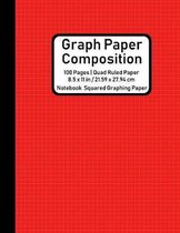 Graph Paper Composition Notebook Squared Graphing Paper: Quad Ruled 5 Squares per Inch, Math and Science Composition Notebook for Students