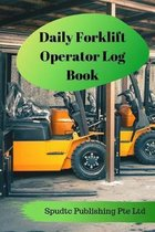 Daily Forklift Operator Log Book