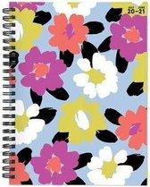 Cal 2021- Floral Print Academic Year Planner