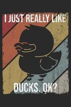 I Just Really Like Ducks, OK?