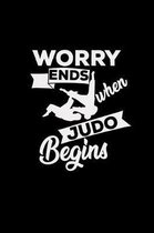 Worry ends when judo begins
