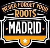 Madrid Never Forget your Roots: KALENDER 2020/2021 mit Monatsplaner/Wochenansicht mit Notizen und Aufgaben Feld! F�r Neujahresvors�tze, Familen, M�tte