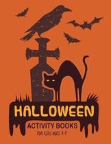 Halloween Activity Books for Kids Ages 3-5: Coloring books Kids for Halloween season