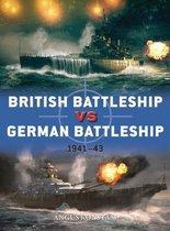 Boek cover British Battleship vs German Battleship van Angus Konstam