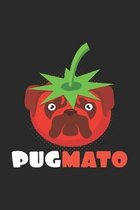 Pugmato: 6x9 Pug - dotgrid - dot grid paper - notebook - notes