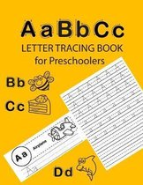 ABC Letter Tracing Book for Preschoolers