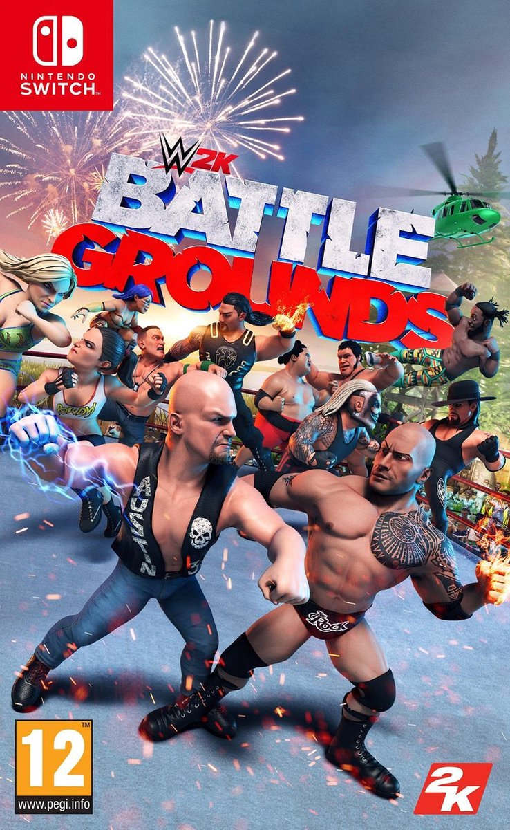 WWE Battlegrounds – Switch