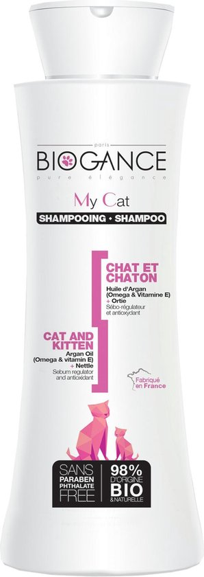 Biogance kat en kitten shampoo 250ml