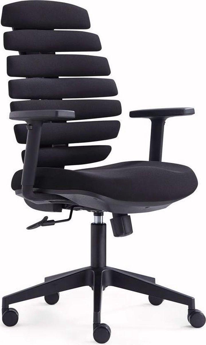 IVOL Ergonomische Bureaustoel Flex Zwart - Ergonomisch zitvlak