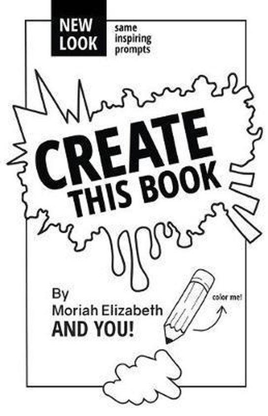 Boek cover Create This Book van Moriah Elizabeth (Paperback)