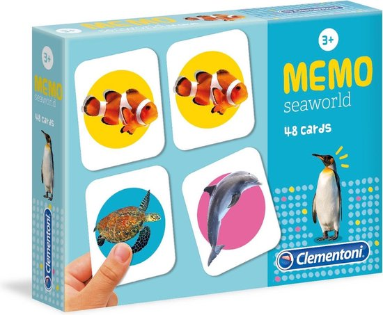 Spel Memo Seaworld Clementoni