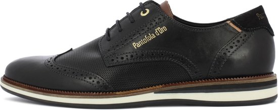 Pantofola d'Oro Rubicon Uomo Lage Zwarte Heren Sneaker 42