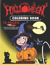 Happy Halloween - Coloring Book: Coloring Book For Kids