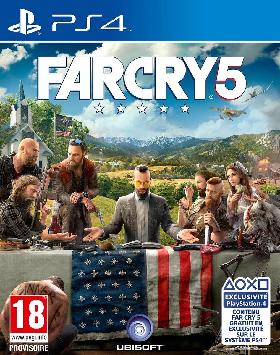 Far Cry 5 - PS4 - Ubisoft