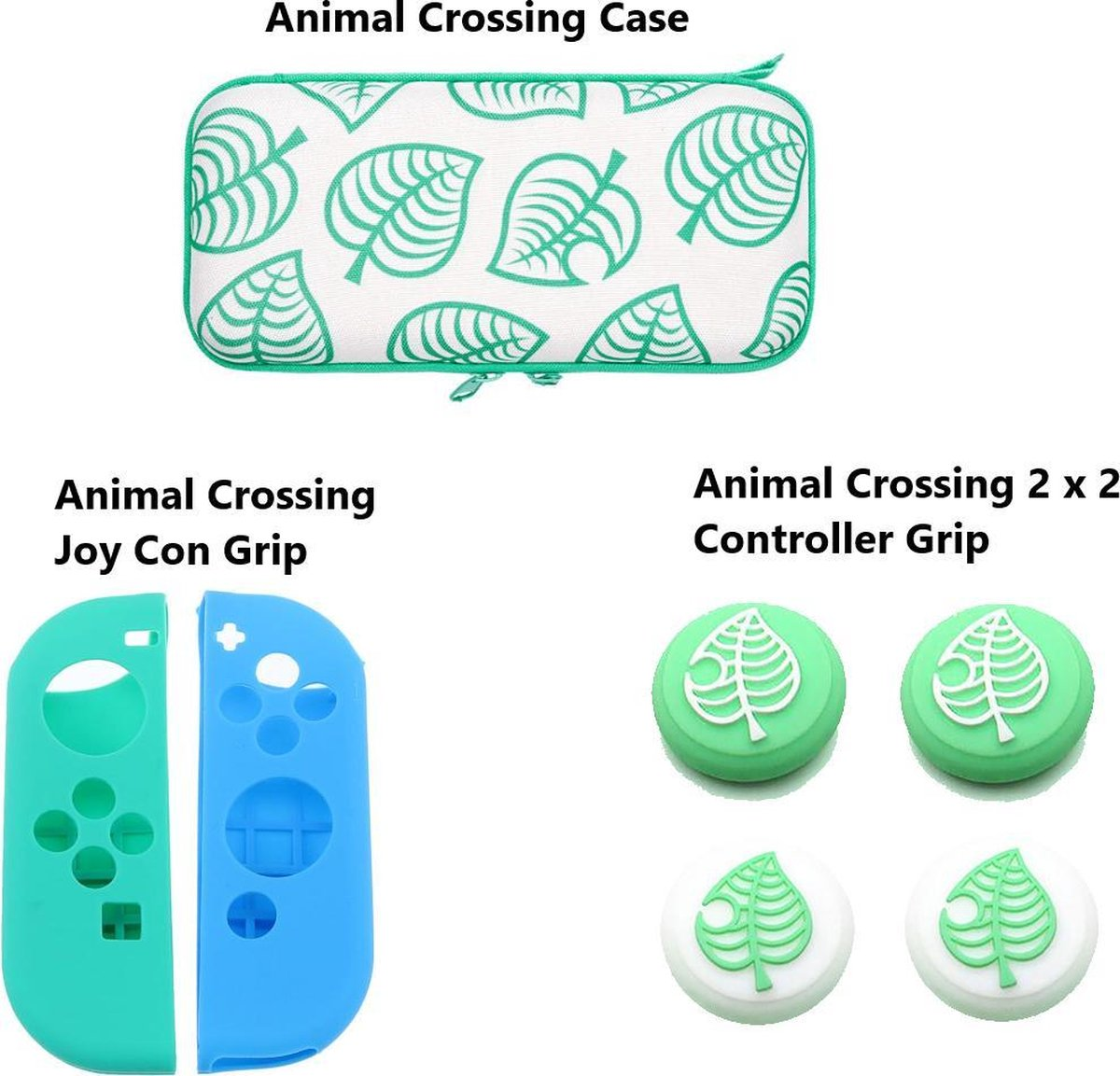 Animal Crossing - Nintendo Switch Accessoires - Nintendo Switch Case - Animal Crossing Switch - Nint