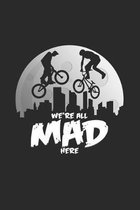 We`re all mad here: 6x9 BMX - grid - squared paper - notebook - notes