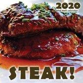 Steak! 2020 Mini Wall Calendar