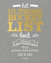 Boekomslag van 'Bucketlist - Het ultieme Bucketlist Boek'