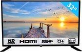 HKC 32F1D-EU - HD LED-tv van 80 cm (32 inch) (HD, Triple Tuner, CI+, HDMI, USB)