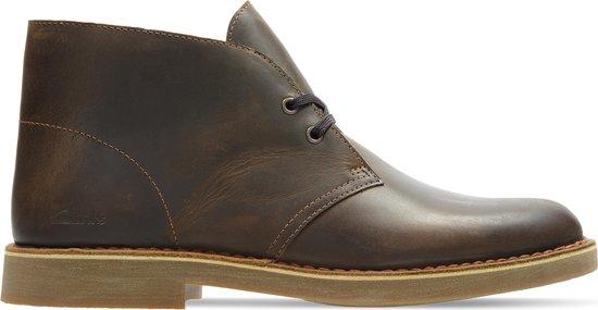 Clarks Heren Desert Boot 2 - Beeswax Leather - Maat 42