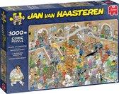Jan van Haasteren Rariteitenkabinet puzzel - 3000 stukjes