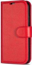Rico Vitello L Wallet case voor Samsung Galaxy A20E Rood