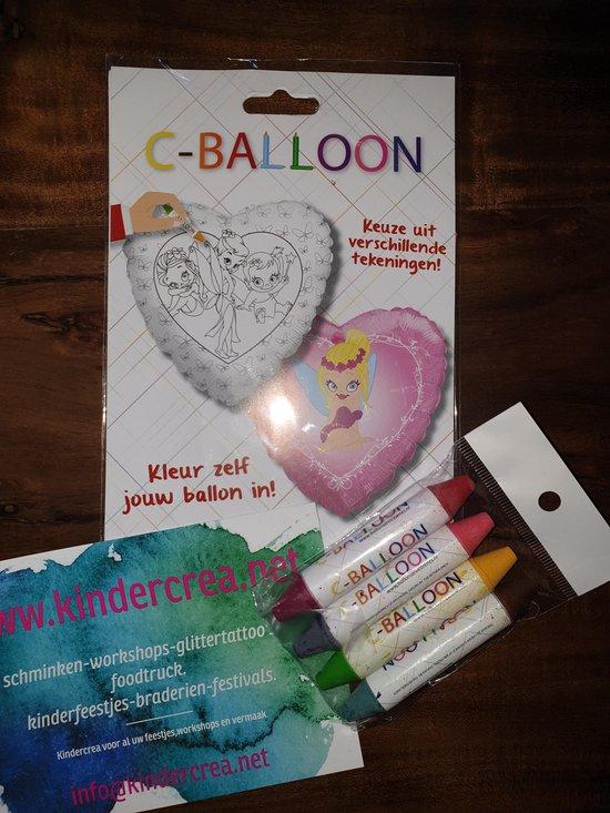 versier je eigen ballon fee/elf