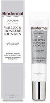 Biodermal Oogcreme bij Wallen & Donkeren Kringen - Vermindert zichtbaar wallen, donkere kringen rimpels en fijne lijntjes