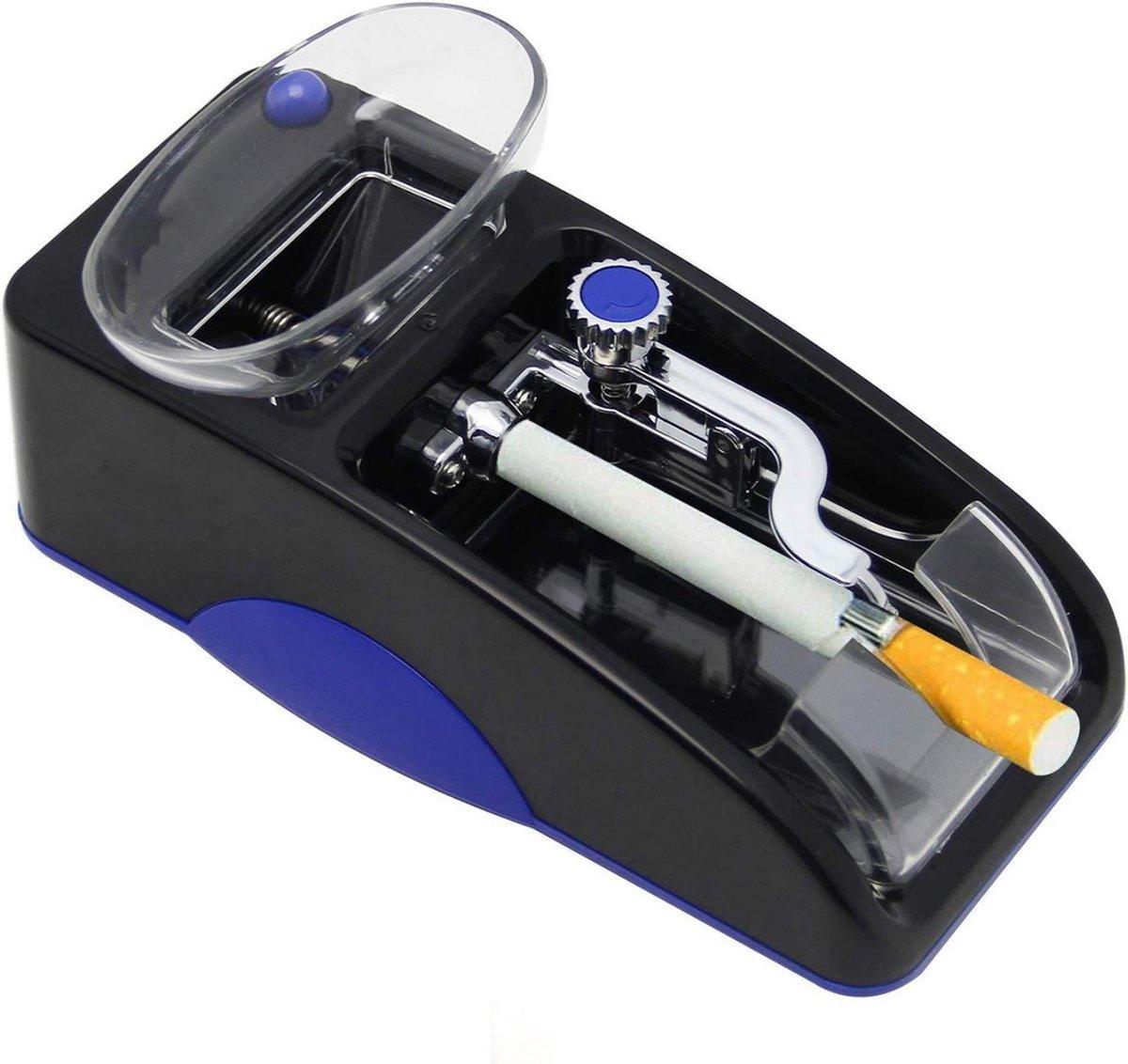 Sigaretten Maker Electrisch - Elektrische Sigarettenmaker blauw voor perfecte sigaretten - Sigarette