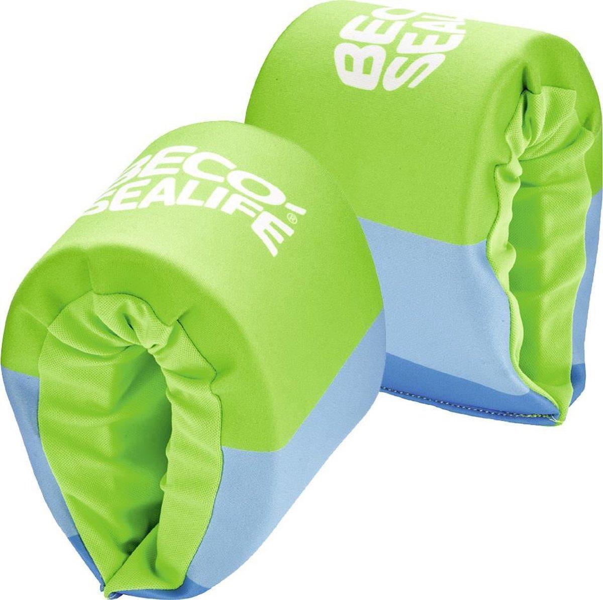 BECO-SEALIFE zwembandjes, neopreen zwembandjes, 15-30 kg, groen