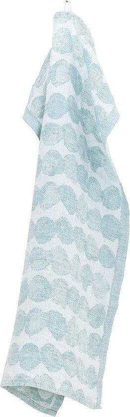 Lapuan Kankurit SADEKUURO Handdoek Wit Turquoise - 48x70