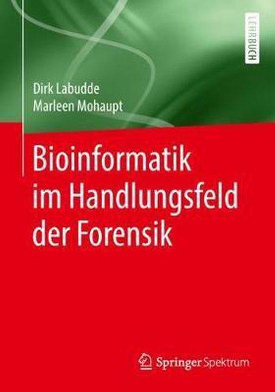 Omslag van Bioinformatik Im Handlungsfeld Der Forensik