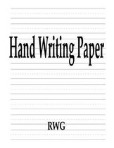 Hand Writing Paper